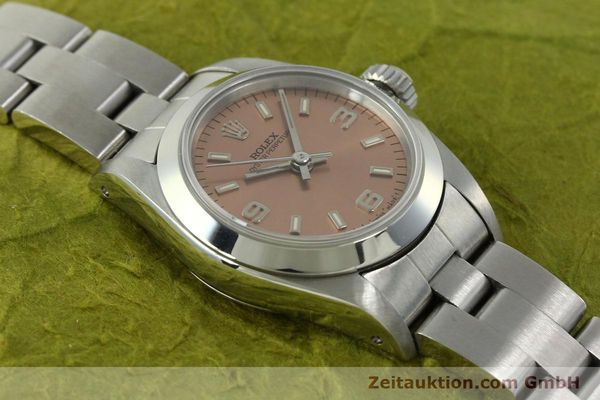 Used luxury watch Rolex Oyster Perpetual steel automatic Kal. 2130 Ref. 67180  | 150592 14