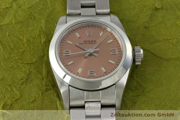 Used luxury watch Rolex Oyster Perpetual steel automatic Kal. 2130 Ref. 67180  | 150592 15