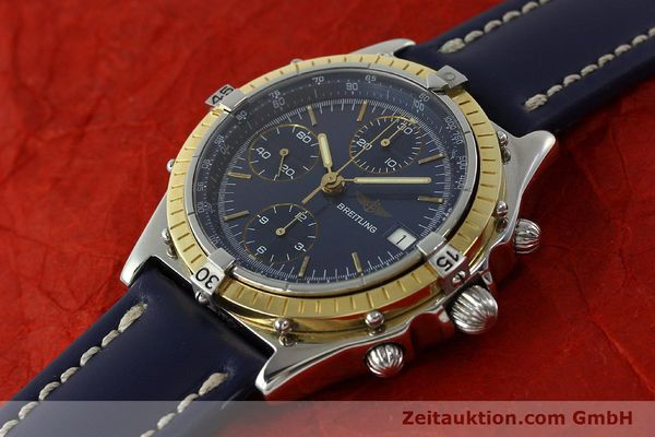 Used luxury watch Breitling Chronomat chronograph steel / gold automatic Kal. Valj. 7750 Ref. 81950  | 150593 01