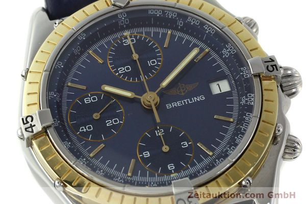 Used luxury watch Breitling Chronomat chronograph steel / gold automatic Kal. Valj. 7750 Ref. 81950  | 150593 02