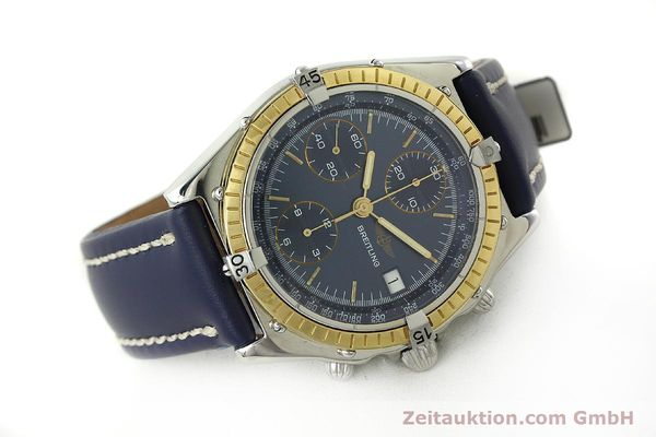 Used luxury watch Breitling Chronomat chronograph steel / gold automatic Kal. Valj. 7750 Ref. 81950  | 150593 03