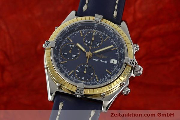 Used luxury watch Breitling Chronomat chronograph steel / gold automatic Kal. Valj. 7750 Ref. 81950  | 150593 04