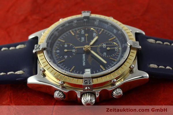 Used luxury watch Breitling Chronomat chronograph steel / gold automatic Kal. Valj. 7750 Ref. 81950  | 150593 05