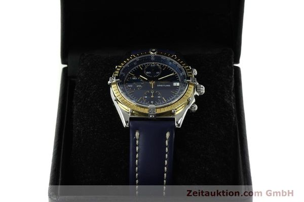 Used luxury watch Breitling Chronomat chronograph steel / gold automatic Kal. Valj. 7750 Ref. 81950  | 150593 07
