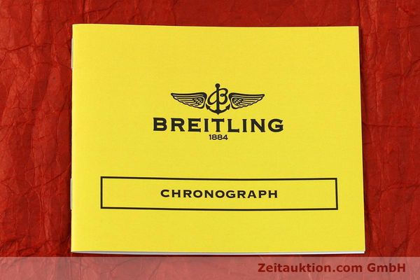 Used luxury watch Breitling Chronomat chronograph steel / gold automatic Kal. Valj. 7750 Ref. 81950  | 150593 12