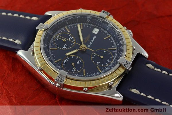 Used luxury watch Breitling Chronomat chronograph steel / gold automatic Kal. Valj. 7750 Ref. 81950  | 150593 15