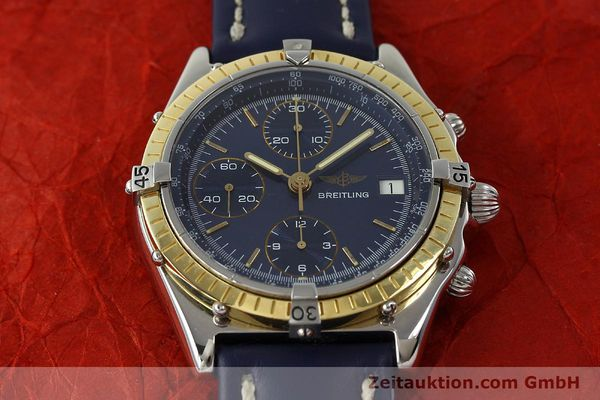 Used luxury watch Breitling Chronomat chronograph steel / gold automatic Kal. Valj. 7750 Ref. 81950  | 150593 16