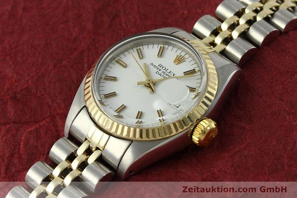 Used luxury watch Rolex Lady Date steel / gold automatic Kal. 2030 Ref. 6917  | 150595 01