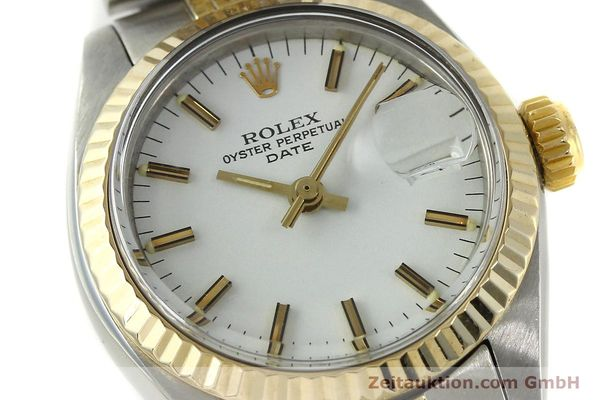 Used luxury watch Rolex Lady Date steel / gold automatic Kal. 2030 Ref. 6917  | 150595 02