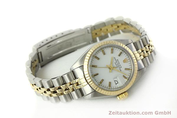Used luxury watch Rolex Lady Date steel / gold automatic Kal. 2030 Ref. 6917  | 150595 03