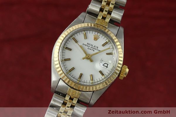 Used luxury watch Rolex Lady Date steel / gold automatic Kal. 2030 Ref. 6917  | 150595 04