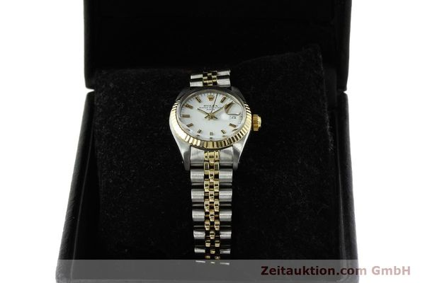 Used luxury watch Rolex Lady Date steel / gold automatic Kal. 2030 Ref. 6917  | 150595 07