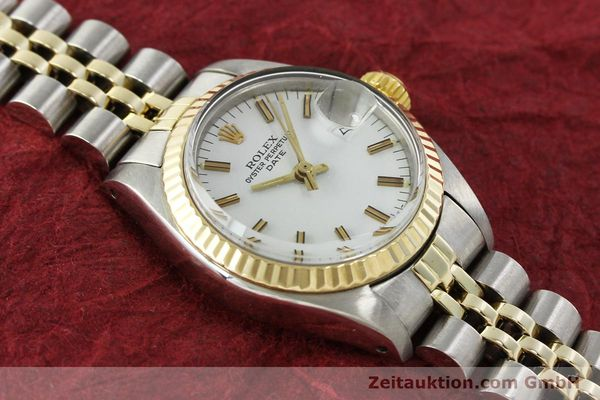 Used luxury watch Rolex Lady Date steel / gold automatic Kal. 2030 Ref. 6917  | 150595 14