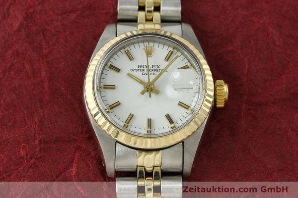 Used luxury watch Rolex Lady Date steel / gold automatic Kal. 2030 Ref. 6917  | 150595 15