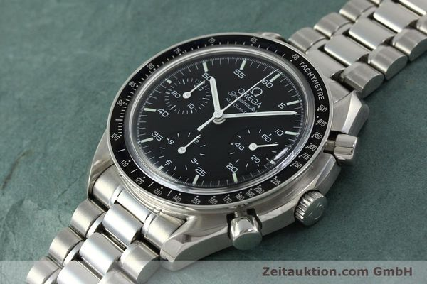 Used luxury watch Omega Speedmaster chronograph steel automatic Kal. 1143 ETA 2890-A2 Ref. 35105000  | 150598 01