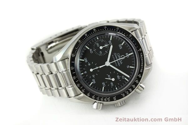 Used luxury watch Omega Speedmaster chronograph steel automatic Kal. 1143 ETA 2890-A2 Ref. 35105000  | 150598 03