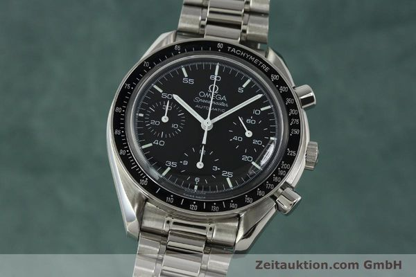 Used luxury watch Omega Speedmaster chronograph steel automatic Kal. 1143 ETA 2890-A2 Ref. 35105000  | 150598 04