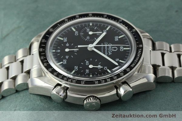 Used luxury watch Omega Speedmaster chronograph steel automatic Kal. 1143 ETA 2890-A2 Ref. 35105000  | 150598 05