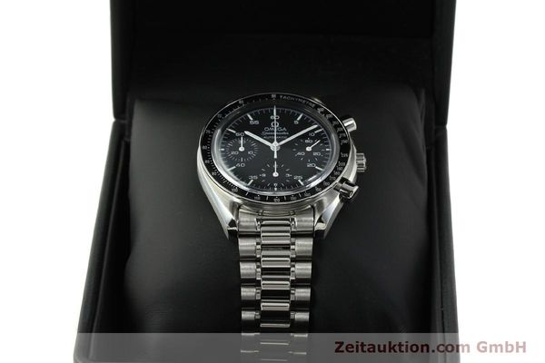 Used luxury watch Omega Speedmaster chronograph steel automatic Kal. 1143 ETA 2890-A2 Ref. 35105000  | 150598 07