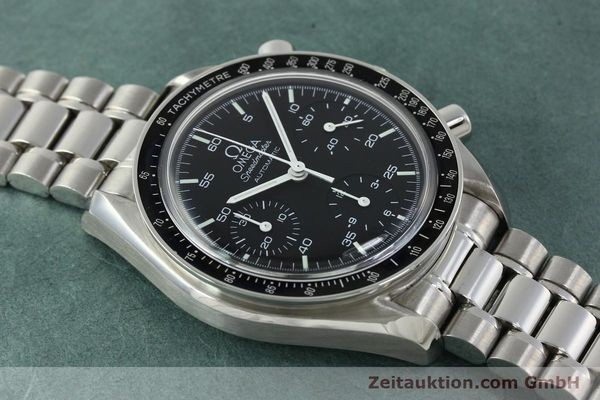Used luxury watch Omega Speedmaster chronograph steel automatic Kal. 1143 ETA 2890-A2 Ref. 35105000  | 150598 15