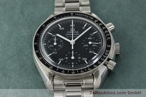 Used luxury watch Omega Speedmaster chronograph steel automatic Kal. 1143 ETA 2890-A2 Ref. 35105000  | 150598 16
