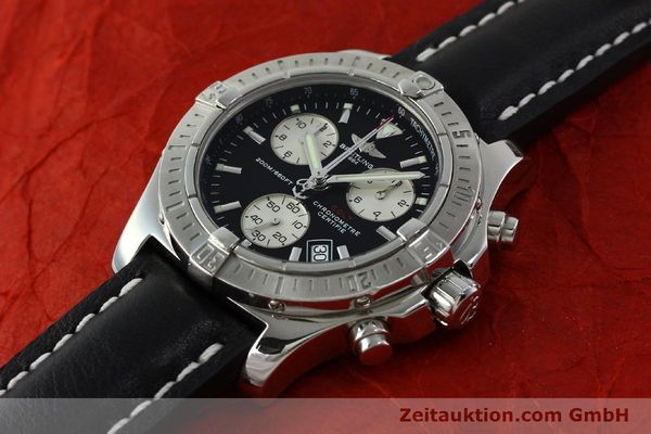 Used luxury watch Breitling Colt chronograph steel quartz Kal. B73  Ref. A73380  | 150602 01