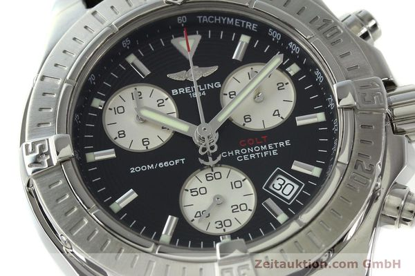 Used luxury watch Breitling Colt chronograph steel quartz Kal. B73  Ref. A73380  | 150602 02