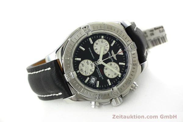 Used luxury watch Breitling Colt chronograph steel quartz Kal. B73  Ref. A73380  | 150602 03