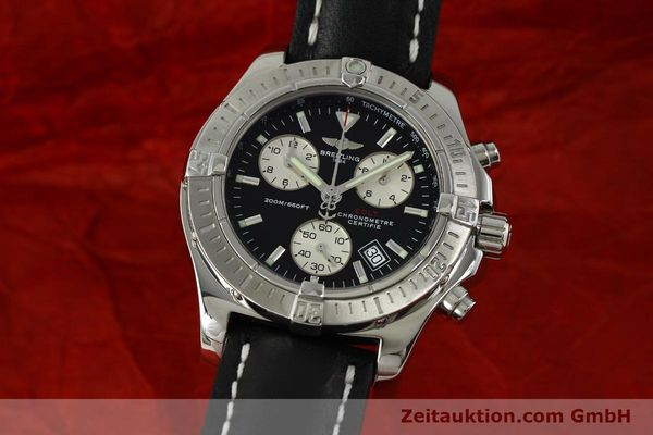 Used luxury watch Breitling Colt chronograph steel quartz Kal. B73  Ref. A73380  | 150602 04