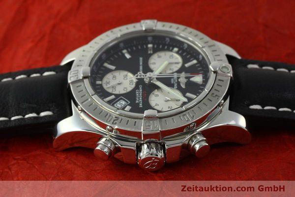 Used luxury watch Breitling Colt chronograph steel quartz Kal. B73  Ref. A73380  | 150602 05