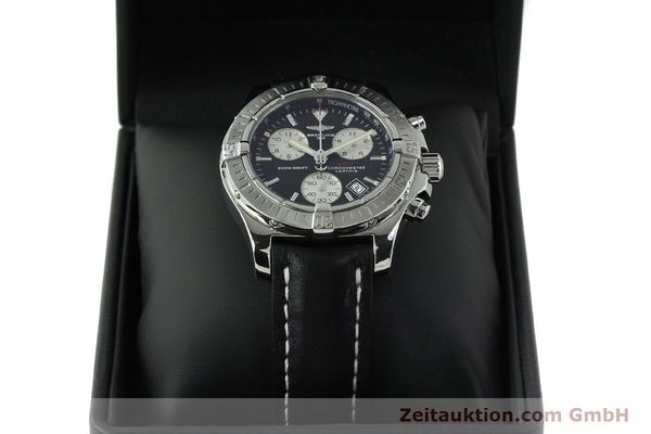 Used luxury watch Breitling Colt chronograph steel quartz Kal. B73  Ref. A73380  | 150602 07