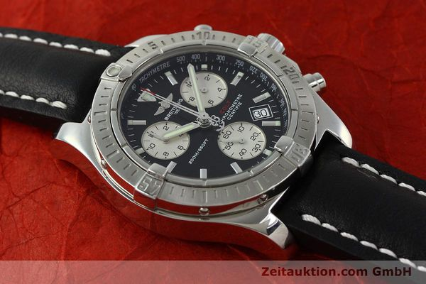 Used luxury watch Breitling Colt chronograph steel quartz Kal. B73  Ref. A73380  | 150602 13