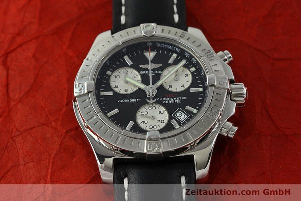 Used luxury watch Breitling Colt chronograph steel quartz Kal. B73  Ref. A73380  | 150602 14