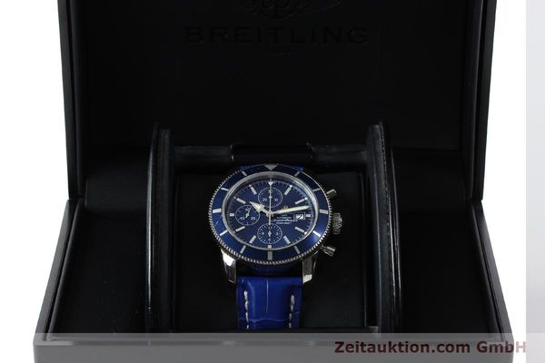 Used luxury watch Breitling Superocean Chronograph chronograph steel automatic Kal. B13 ETA 7750 Ref. A13320  | 150606 07