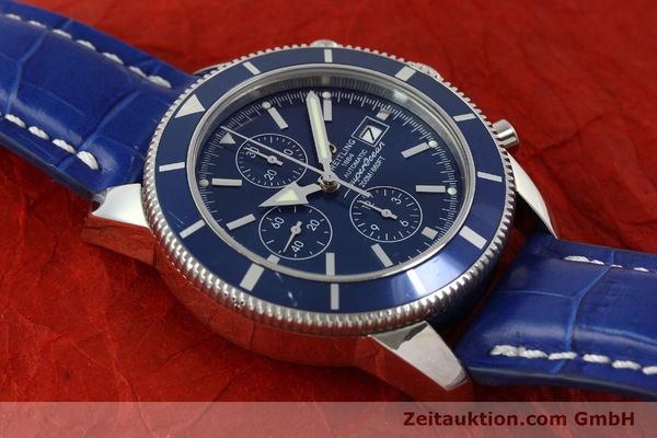 Used luxury watch Breitling Superocean Chronograph chronograph steel automatic Kal. B13 ETA 7750 Ref. A13320  | 150606 14