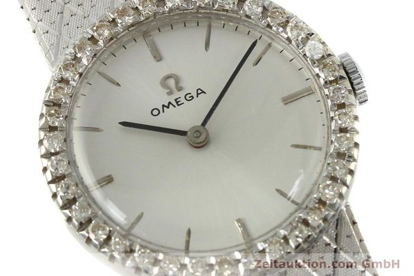 Used luxury watch Omega * 18 ct white gold manual winding Kal. 620 VINTAGE  | 150611 02
