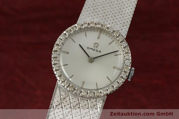 Used luxury watch Omega * 18 ct white gold manual winding Kal. 620 VINTAGE  | 150611 04