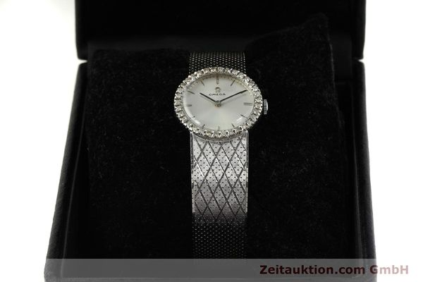 Used luxury watch Omega * 18 ct white gold manual winding Kal. 620 VINTAGE  | 150611 07