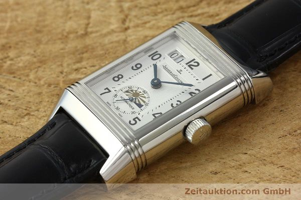 Used luxury watch Jaeger Le Coultre Reverso steel automatic Kal. 970 Ref. 240.8.72  | 150612 01