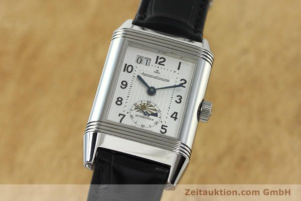 Used luxury watch Jaeger Le Coultre Reverso steel automatic Kal. 970 Ref. 240.8.72  | 150612 04
