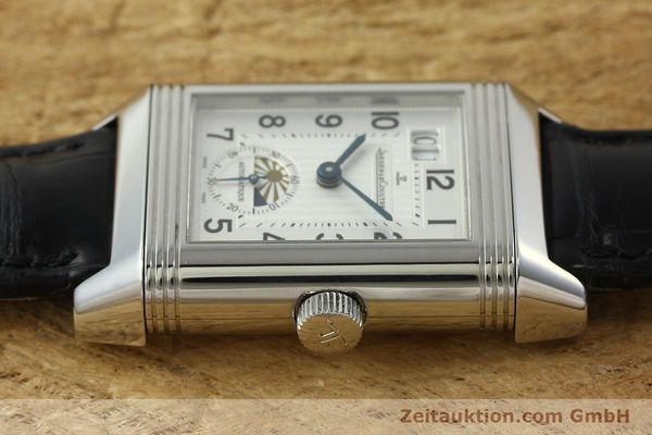 Used luxury watch Jaeger Le Coultre Reverso steel automatic Kal. 970 Ref. 240.8.72  | 150612 05