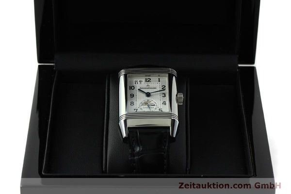 Used luxury watch Jaeger Le Coultre Reverso steel automatic Kal. 970 Ref. 240.8.72  | 150612 07