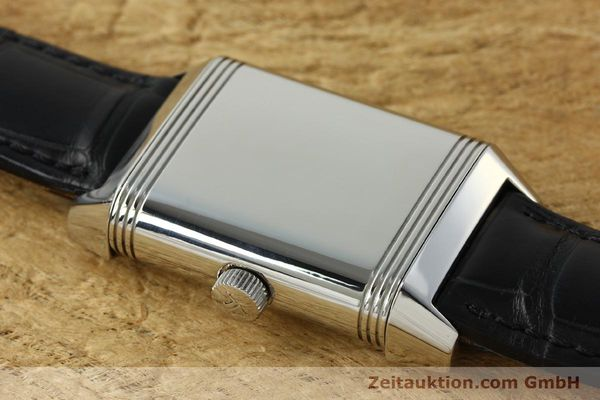 Used luxury watch Jaeger Le Coultre Reverso steel automatic Kal. 970 Ref. 240.8.72  | 150612 13