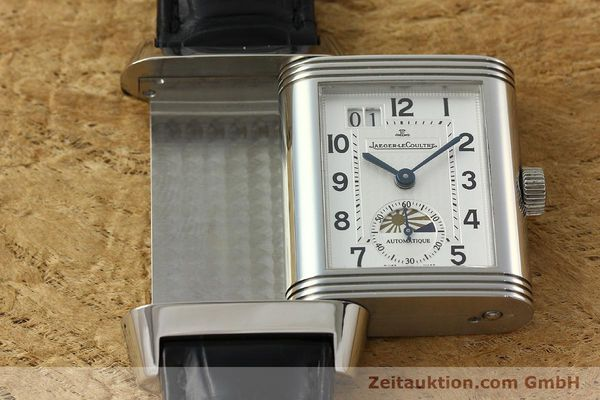 Used luxury watch Jaeger Le Coultre Reverso steel automatic Kal. 970 Ref. 240.8.72  | 150612 14
