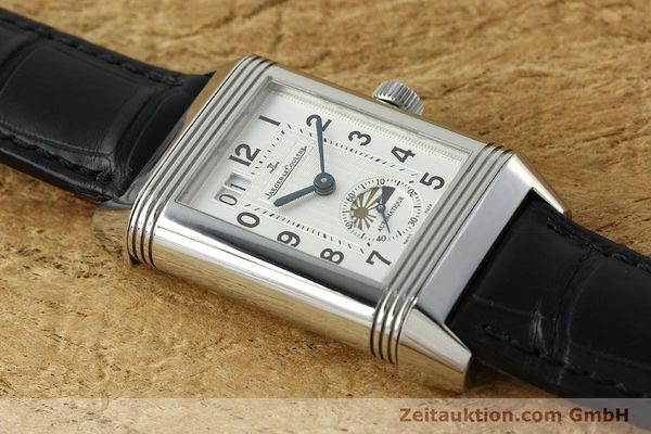 Used luxury watch Jaeger Le Coultre Reverso steel automatic Kal. 970 Ref. 240.8.72  | 150612 15