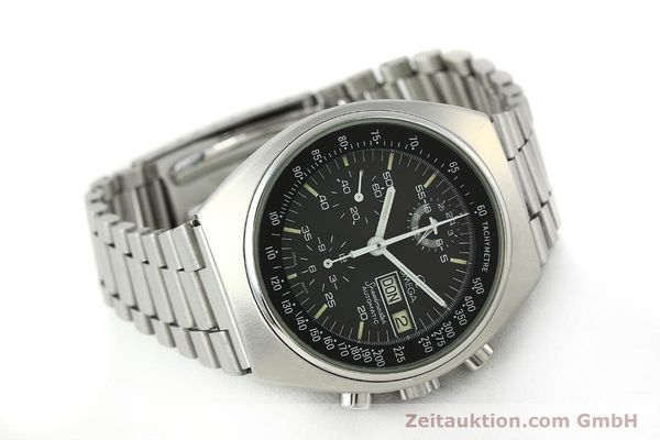 Used luxury watch Omega Speedmaster chronograph steel automatic Kal. 1045  | 150621 03