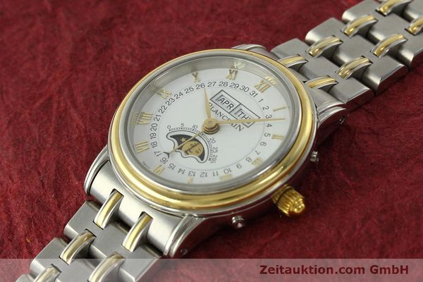 Used luxury watch Blancpain Villeret steel / gold automatic Kal. 95  | 150623 01