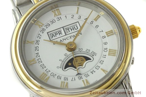 Used luxury watch Blancpain Villeret steel / gold automatic Kal. 95  | 150623 02