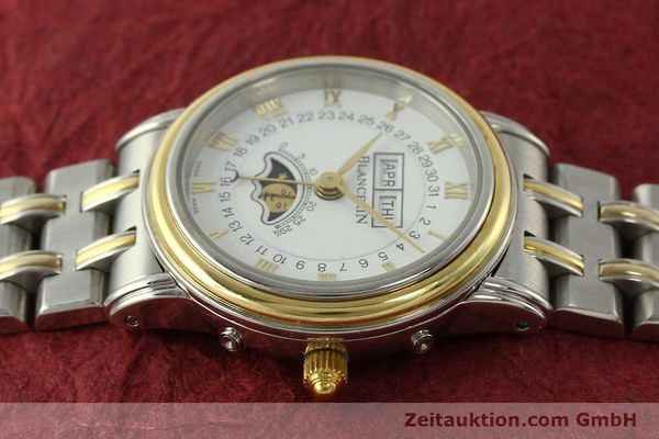 Used luxury watch Blancpain Villeret steel / gold automatic Kal. 95  | 150623 05