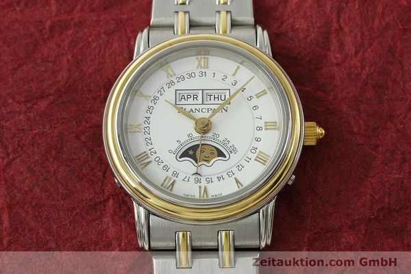 Used luxury watch Blancpain Villeret steel / gold automatic Kal. 95  | 150623 16